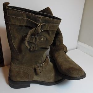 Shoes - CROSTA TAUPE Women's THUNDER THUNDER boots Sz 7